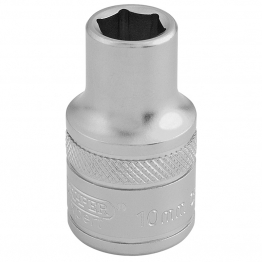 "1/2"" Square Drive 6 Point Metric Socket (10mm)"