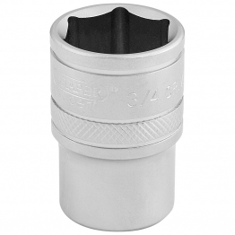 """1/2"""" Square Drive 6 Point Imperial Socket (3/4"""")"""