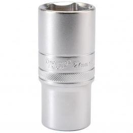 "1/2"" Square Drive 6 Point Metric Deep Socket (27mm)"
