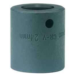 """Expert 24mm 1/2"""" Square Drive Impact Socket (sold Loose)"""