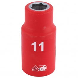 """1/2"""" Sq. Dr. Fully Insulated Vde Socket (11mm)"""