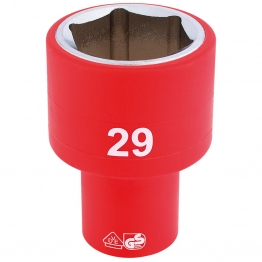 """1/2"""" Sq. Dr. Fully Insulated Vde Socket (29mm)"""