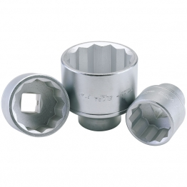 "1.7/16"", 1"" Square Drive Elora Bi-hexagon Socket"