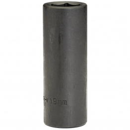 "Expert 19mm 1/2"" Square Drive Deep Impact Socket (sold Loose)"