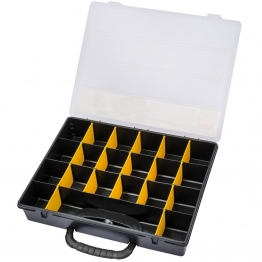4 To 21 Compartment Plastic Organiser