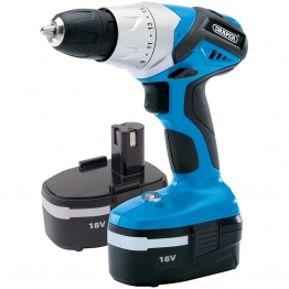 18v Cordless Rotary Drill With Two Batteries