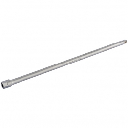 "250mm 1/4"" Square Drive Satin Chrome Plated Extension Bar"
