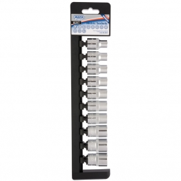 """1/2"""" Sq. Dr. 12 Point Sockets (10 Piece)"""