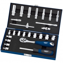 "1/4"" Sq. Dr. Metric Socket Set (26 Piece)"