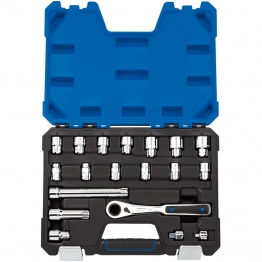 20mm 'go Through' Socket Set (19 Piece)