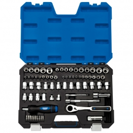 Go Through' Combined Mm/af Socket Set (71 Piece)