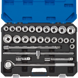 "3/4"" Sq. Dr. Combined Mm/af Socket Set (26 Piece)"