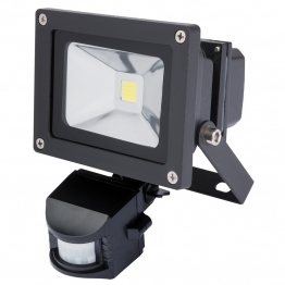 Expert 10w Cob Led Wall Mounted Flood Light With Passive Infra-red Detector