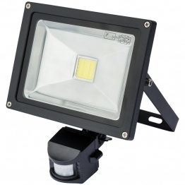 Expert 20w Cob Led Wall Mounted Flood Light With Passive Infra-red Detector