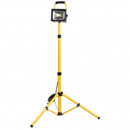 Expert 110v Cob Led Worklamp (20w) With Telescopic Tripod