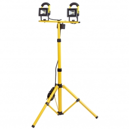 Expert 110v Twin Cob Led Worklamp (10w) With Telescopic Tripod