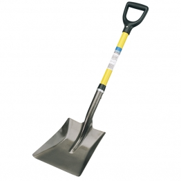 Fibreglass Shafted Square Mouth Builders Shovel