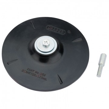 125mm Rubber Backing Disc