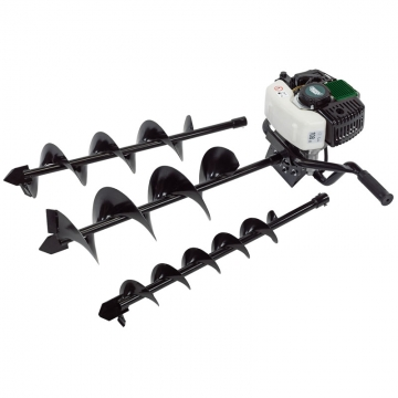 Expert 52cc Petrol Fence Post Auger Kit