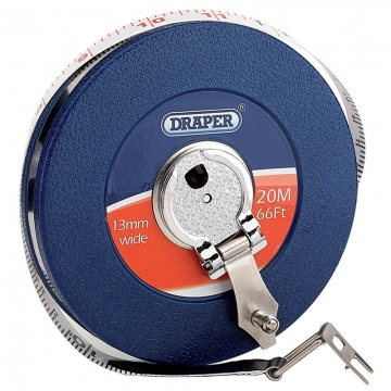 Expert 20m/66ft Fibreglass Measuring Tape