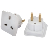 Pack Of Two European Travel Adaptors