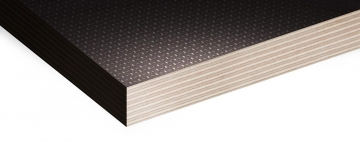 Anti-slip Mesh Phenolic Birch Plywood Also Known As Buffalo Board